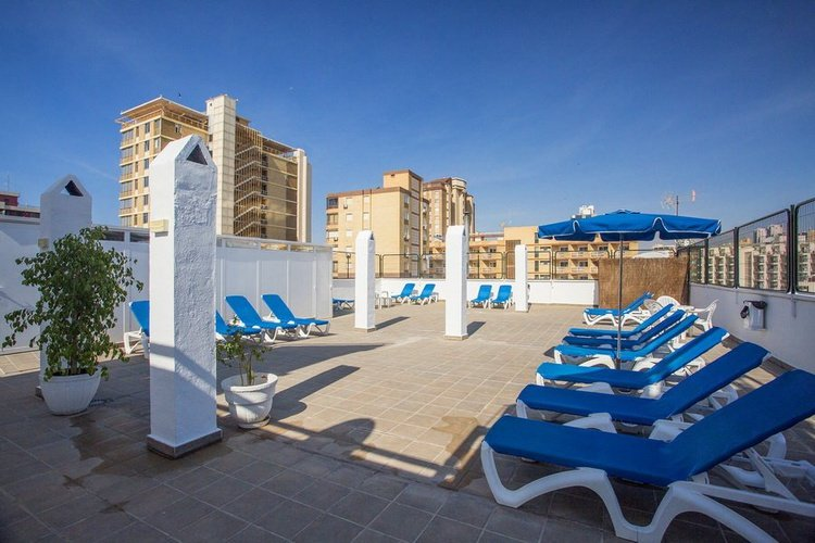 Terrace magic villa benidorm hotel