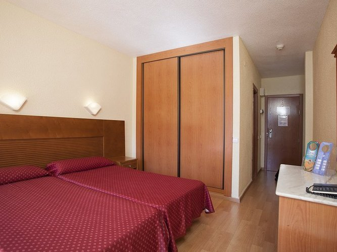Double room magic villa benidorm hotel