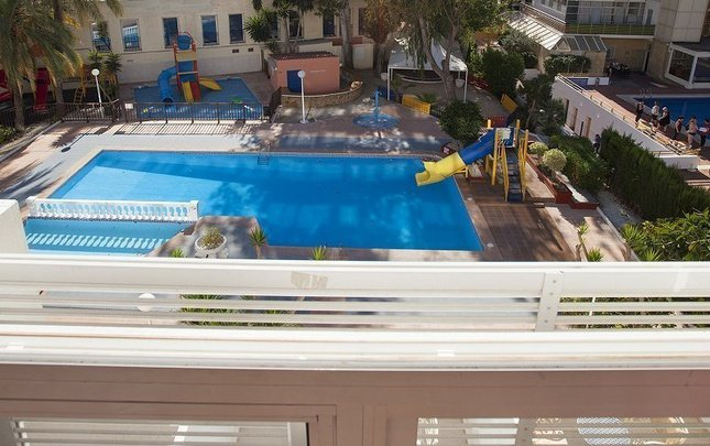 Junior pool view magic villa benidorm hotel