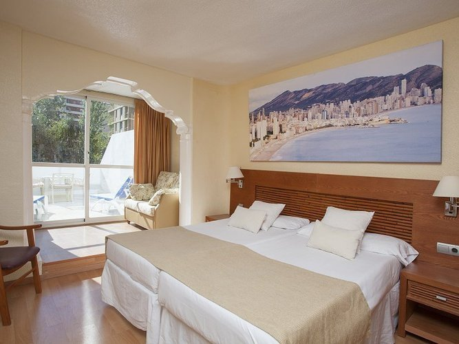 Superior room magic villa benidorm hotel