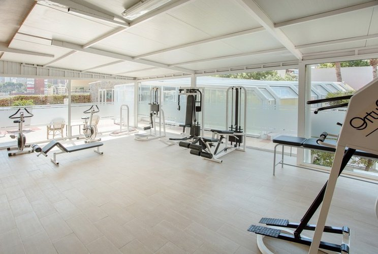 Gym magic villa benidorm hotel